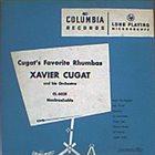 XAVIER CUGAT Cugat's Favorite Rhumbas (aka  The Magic Of The Rumba) album cover
