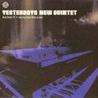 YESTERDAYS NEW QUINTET Bomb Shelter EP album cover