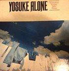YOSUKE YAMASHITA Alone album cover