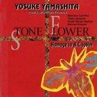 YOSUKE YAMASHITA Yosuke Yamashita Meets Brazilian Friends : Stone Flower - Homage To A.C. Jobim album cover