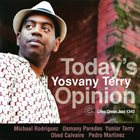 YOSVANY TERRY Today's Opinion album cover