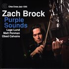 ZACH BROCK Purple Sounds album cover