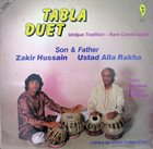 ZAKIR HUSSAIN Tabla Duet album cover