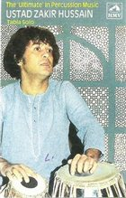 ZAKIR HUSSAIN The 'Ultimate' in Percussion Music (aka Rhythms Of India) album cover