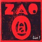 ZAO Live! album cover