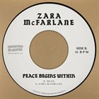 ZARA MCFARLANE Peace Begins Within album cover