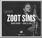 ZOOT SIMS Baden-Baden – June 23, 1958 album cover