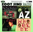 ZOOT SIMS Four Classic Albums album cover