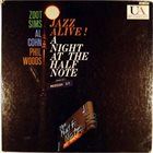 ZOOT SIMS Jazz Alive! A Night At The Half Note (with Al Cohn / Phil Woods) album cover