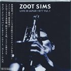 ZOOT SIMS Live In Japan 1977 Vol. 1 album cover