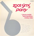 ZOOT SIMS Party album cover