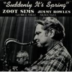 ZOOT SIMS Suddenly It's Spring album cover