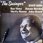 ZOOT SIMS The Swinger album cover