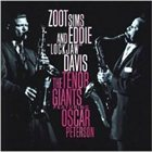 ZOOT SIMS The Tenor Giants Featuring Oscar Peterson Trio  (with Eddie Lockjaw Davis) album cover