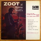 ZOOT SIMS Zoot At Ronnie Scott's album cover