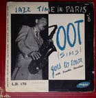 ZOOT SIMS Zoot Goes To Town: Jazz Time Paris, Vol. 8 album cover