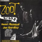 ZOOT SIMS Zoot Sims ave Henri Renaud et son orchestre et Jon Eardley (aka Starring Zoot Sims aka Zoot Sims In Paris aka Zoot Sims In Paris - 1956 aka American Swinging In Paris) album cover