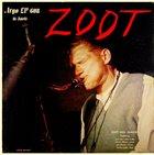 ZOOT SIMS Zoot Sims Quartet : Zoot album cover
