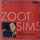 ZOOT SIMS Zoot Sims With The Lighthouse Allstars 1954 album cover
