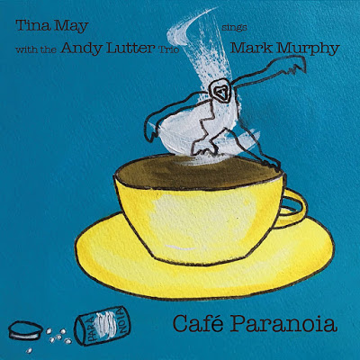 TINA MAY - Cafe Paranoia cover