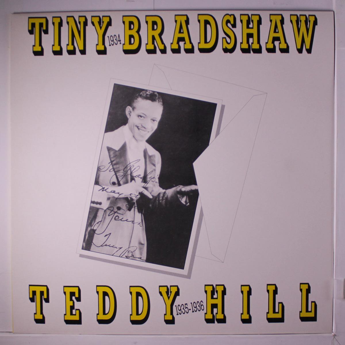 TINY BRADSHAW - Tiny Bradshaw / Teddy Hill cover