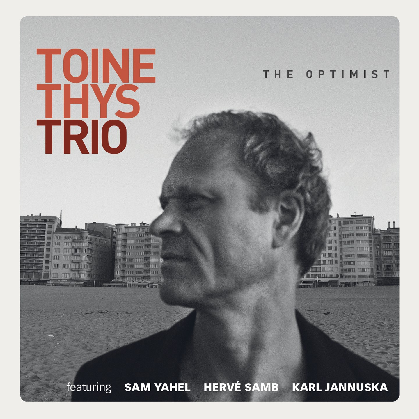 TOINE THYS - The Optimist cover