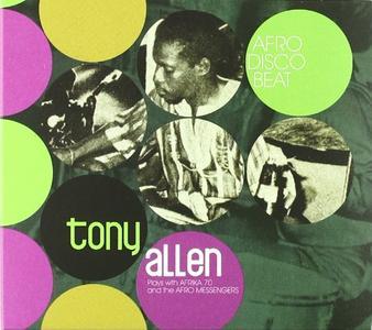 TONY ALLEN - Afro Disco Beat cover