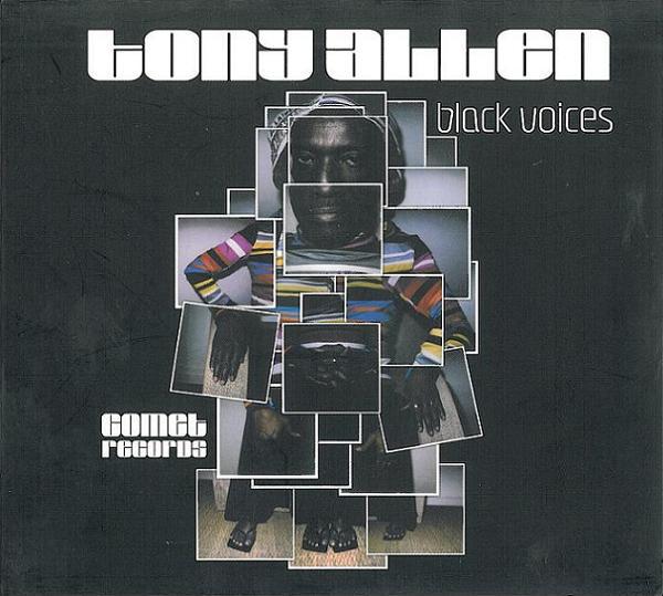 TONY ALLEN - Black Voices cover