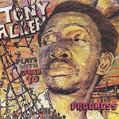 TONY ALLEN - Jealousy / Progress cover