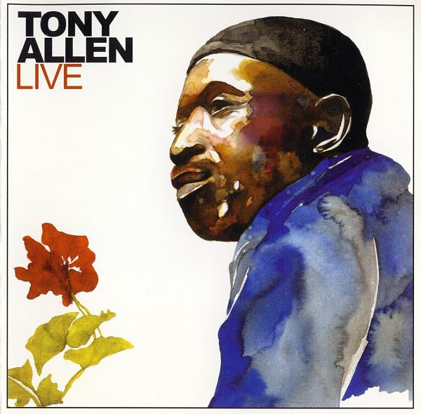 TONY ALLEN - Live cover
