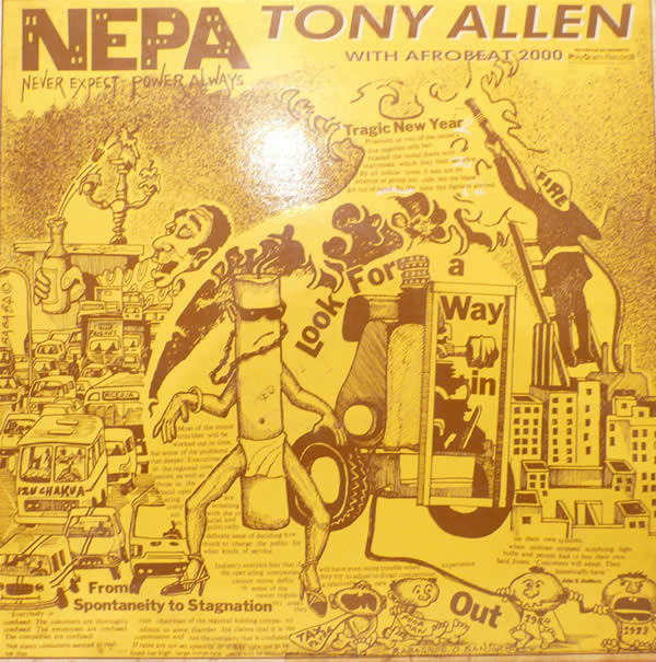 TONY ALLEN - N.E.P.A. (Never Expect Power Always) cover