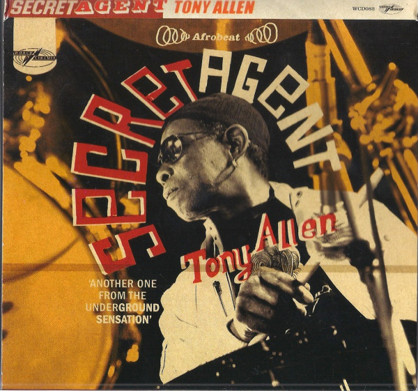 TONY ALLEN - Secret Agent cover
