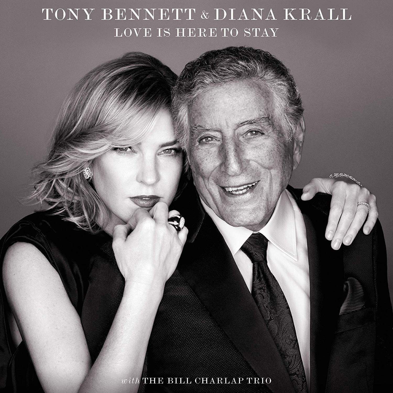 TONY BENNETT - Tony Bennett & Diana Krall : Love Is Here To Stay cover