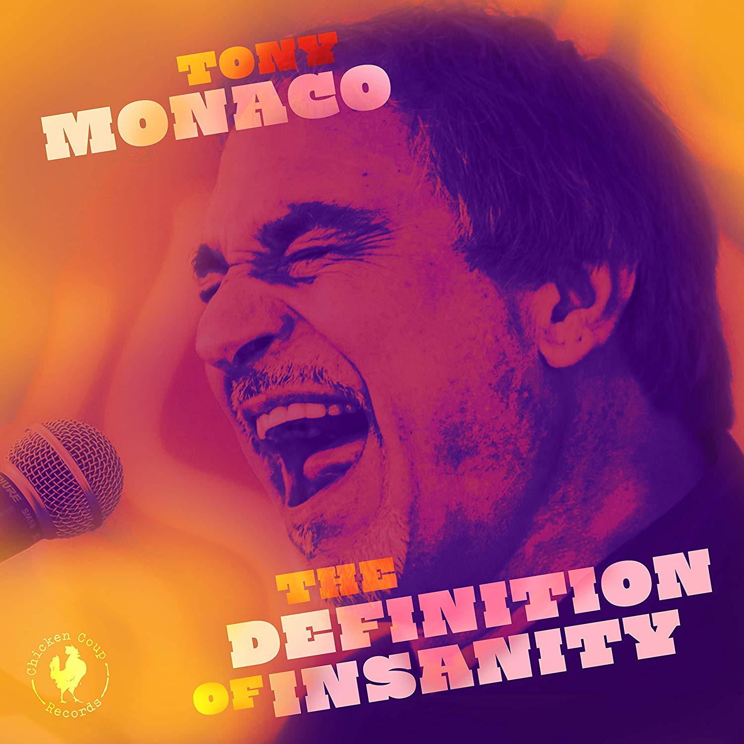 TONY MONACO - The Definition Of Insanity cover