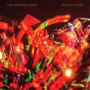 TREY ANASTASIO - Burn It Down cover