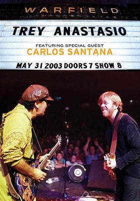 TREY ANASTASIO - Live At The Warfield cover