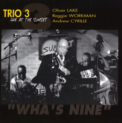 TRIO 3 - Wha's Nine - Live At The Sunset cover