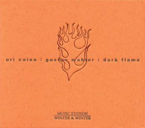 URI CAINE - Dark Flame cover