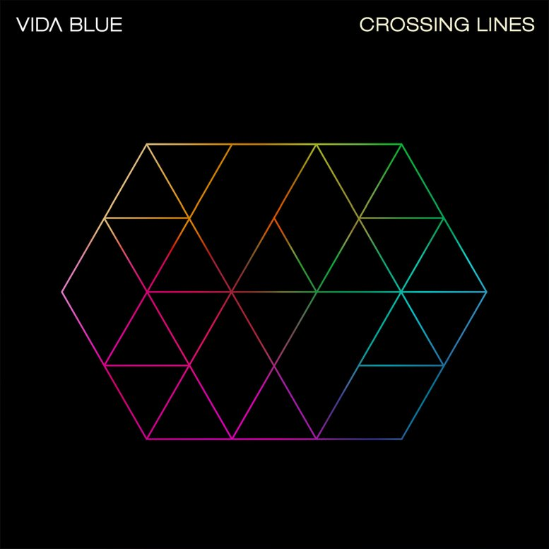 VIDA BLUE - Crossing Lines cover