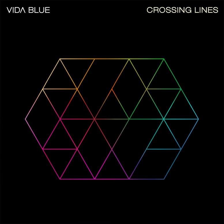 VIDA BLUE - Crossing Lines cover