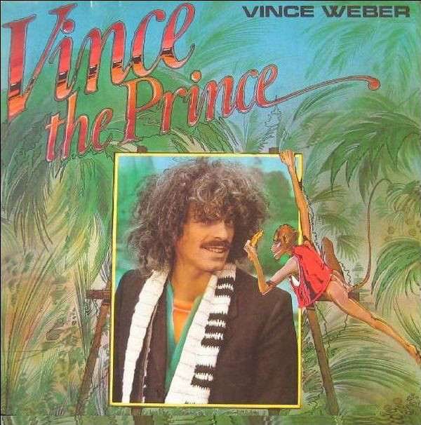 VINCE WEBER - Vince The Prince cover