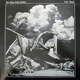 VINNY GOLIA - Goin' Ahead cover