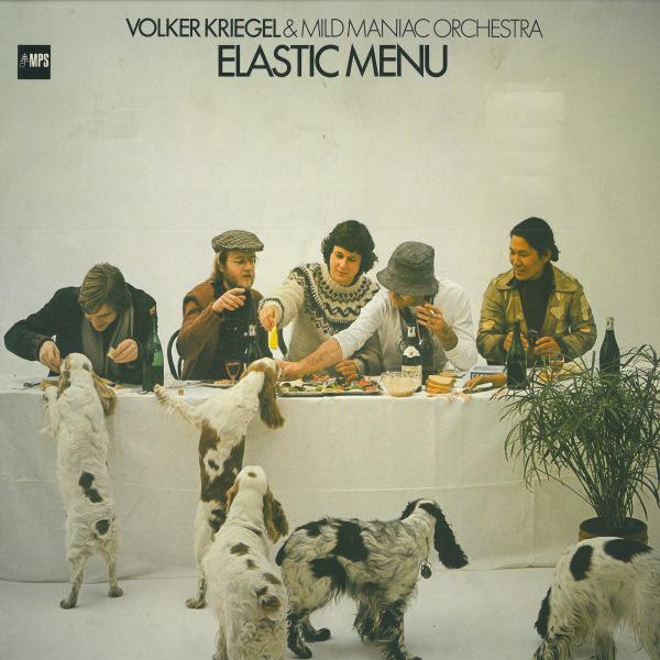 VOLKER KRIEGEL - Elastic Menu cover
