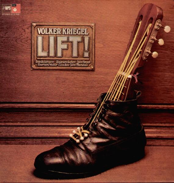 VOLKER KRIEGEL - Lift! cover