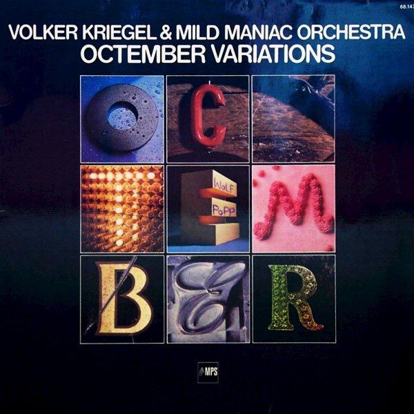 VOLKER KRIEGEL - Octember Variations cover