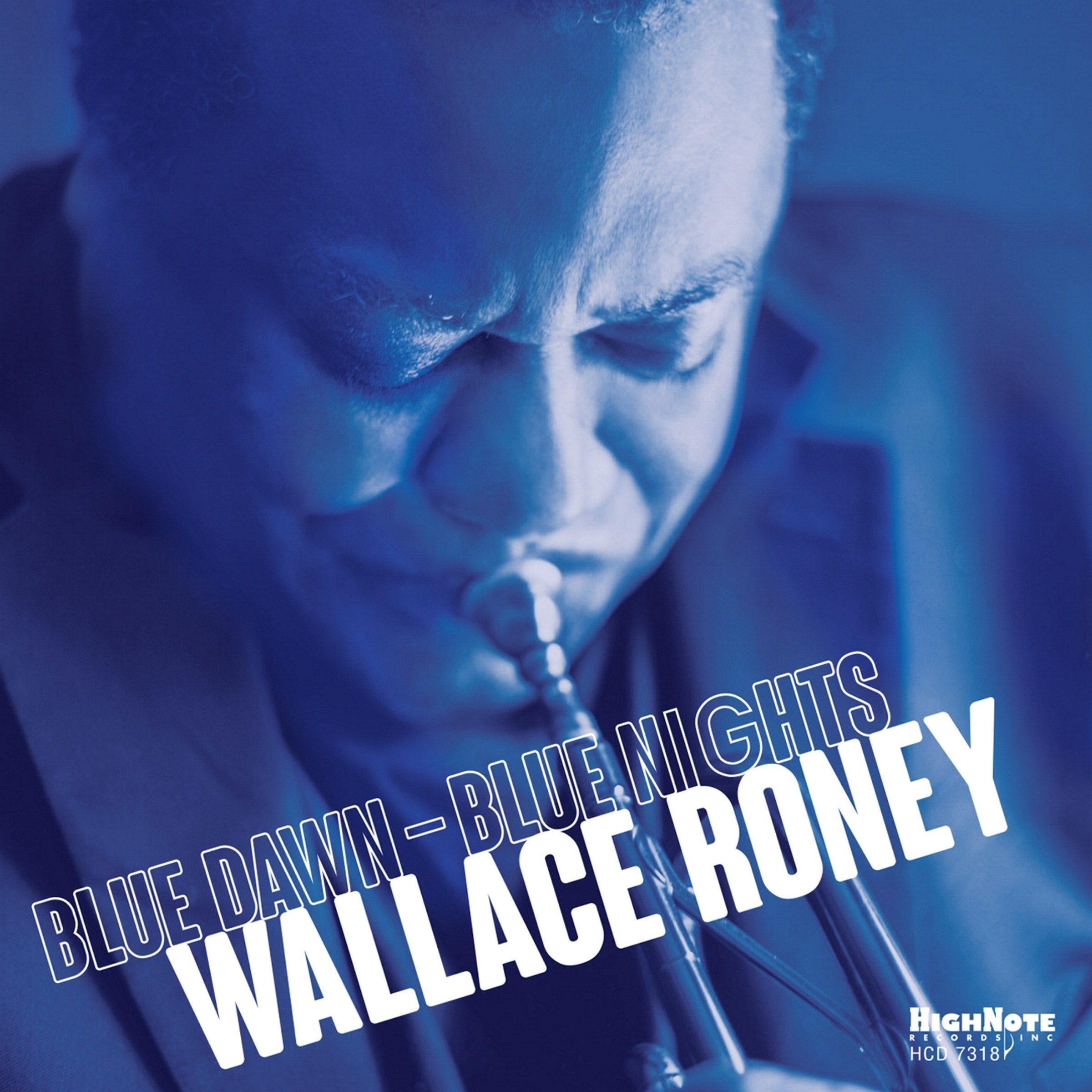 WALLACE RONEY - Blue Dawn - Blue Nights cover