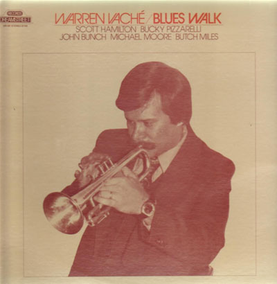 WARREN VACHÉ - Blues Walk cover