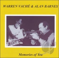 WARREN VACHÉ - Memories of You cover