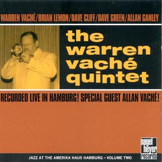 WARREN VACHÉ - Warren Vache Quintet : Recorded Live In Hamburg (aka My Shining Hour) cover