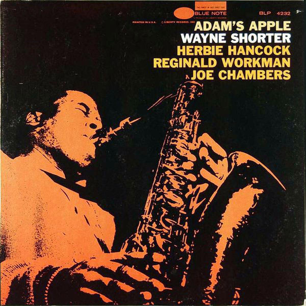 WAYNE SHORTER - Adam's Apple cover